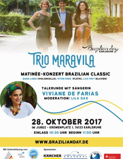 2017-10 Brazilian Day - Trio MaraViLa